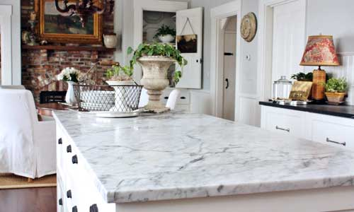 ... Marble Is Vulnerable To Etching When Acidic Liquids Are Invariably  Spilled On It. These Spots And Marks Can Destroy The Finish Of Your  Countertop; ...